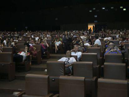 Público no Cine Brasília, na capital federal, em outubro.