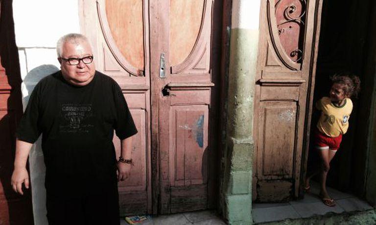 O padre Martin, no Brás, região central de São Paulo.