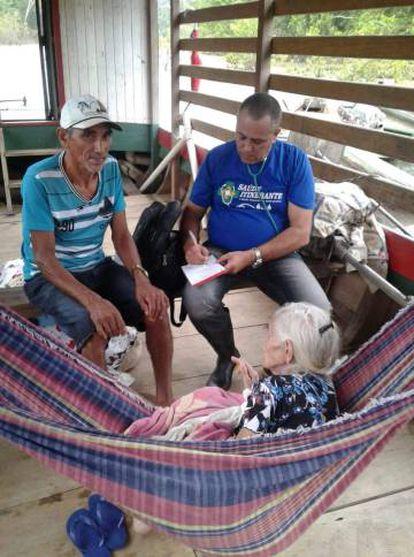 Médico cubano atende pacientes em Sena Madureira, no Acre