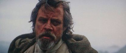 Mark Hamill como Luke Skywalker em 'Star Wars'.