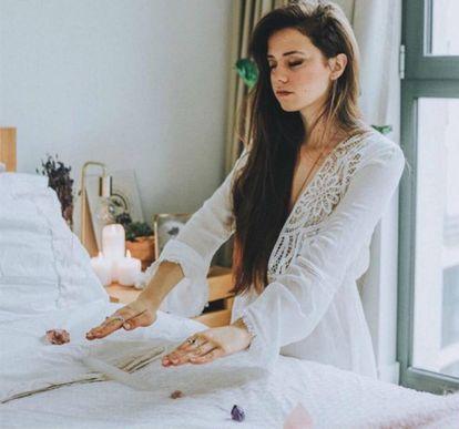 A 'influencer' Claudia Ayuso, em uma foto no seu Instagram.