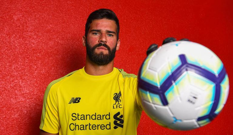 Alisson é o titular do Liverpool.