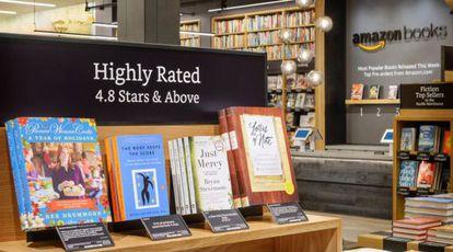 Livros com mais de 4,8 estrelas de pontuação segundo os leitores online.