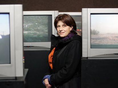 Chantal Akerman, em Madri em 2005.