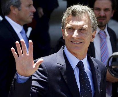 Mauricio Macri, em 11 de dezembro deste ano.