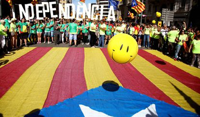 Dia da Catalunha, comemorado nesta segunda, 11 de setembro.