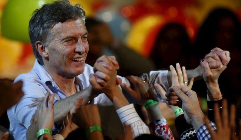 Mauricio Macri, candidato do PRO nas presidenciais.