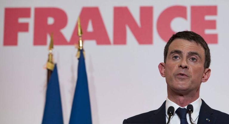 O ex-primeiro-ministro francês Manuel Valls apresenta seu projeto para a eleição presidencial.