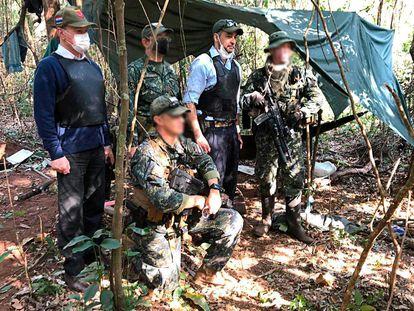 Mario Abdo anuncia em suas redes sociais uma operação contra a guerrilha do Exército do Povo Paraguaio em 2 de setembro.