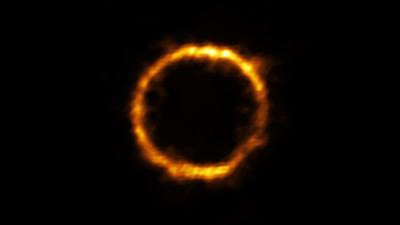 Imagem da galáxia SPT0418-47.