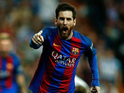 Messi faz dois gols na vitória do Barça sobre o Real.