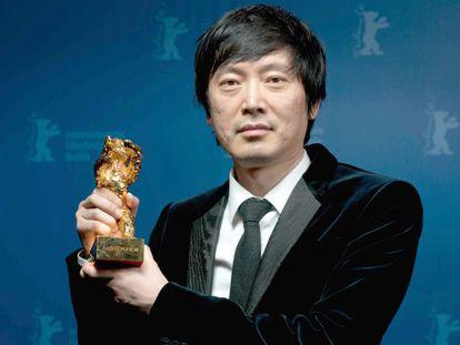 O diretor Diao Yinan, ganhador do Urso de Ouro por 'Bai Ri Yan Huo'.
