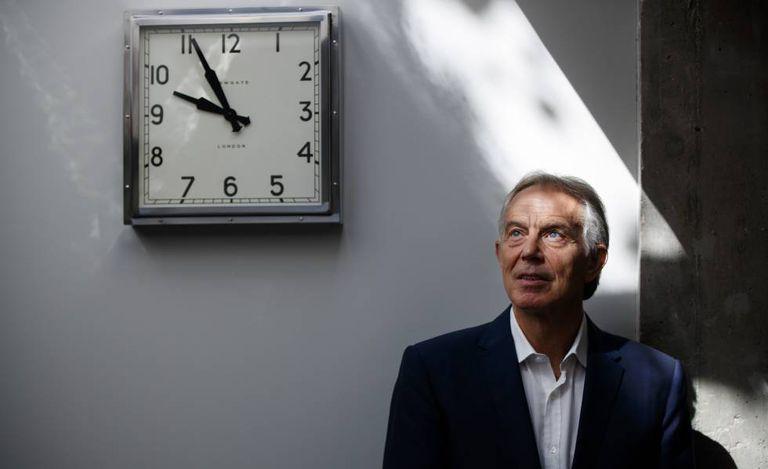 Blair, em 17 de julho, em Londres