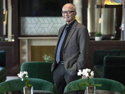 Finn E. Kydland na semana passada em um hotel de Valência, na Espanha.