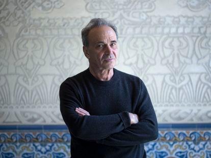 O filósofo Michel Feher na última terça-feira, em Barcelona.