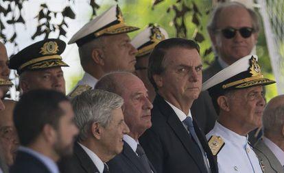 O presidente Jair Bolsonaro em evento no Rio.