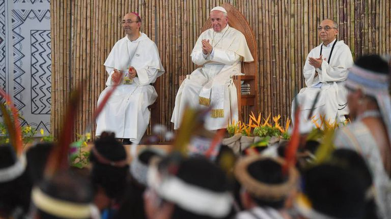 O Papa, na sexta-feira passada