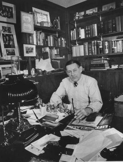 O escritor norte-americano John O'Hara