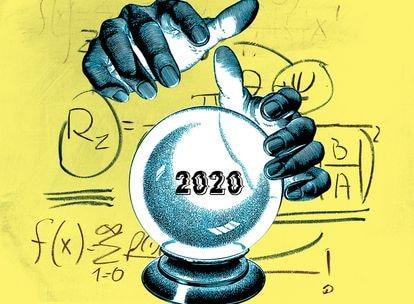 Turchin não só disse que 2020 deixaria as sociedades ocidentais à beira do abismo, ele também vê como muito provável que em 2021 elas darão um (irreversível?) passo à frente, precipitando-se no vazio.