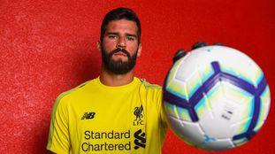 Alisson é o titular do Liverpool.