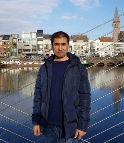 Ablimit Tursun, em Ghent (Bélgica), em uma foto sem data.