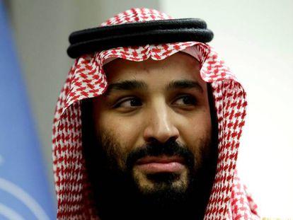 O Príncipe Mohammed bin Salman, em março em Nova York.