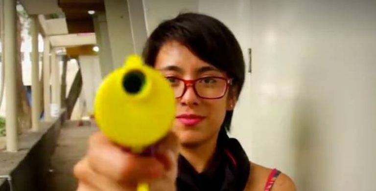 Filhas da Violência, um coletivo feminista que surgiu em 2013.