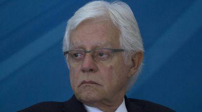 Moreira Franco, ex-ministro da Secretaria-Geral de Temer, preso pela Lava Jato, em uma imagem de arquivo.