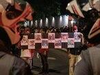 Ato realizado em 4 de dezembro de 2019 em frente ao Palácio do Governo de SP repudiou ação da PM na favela.