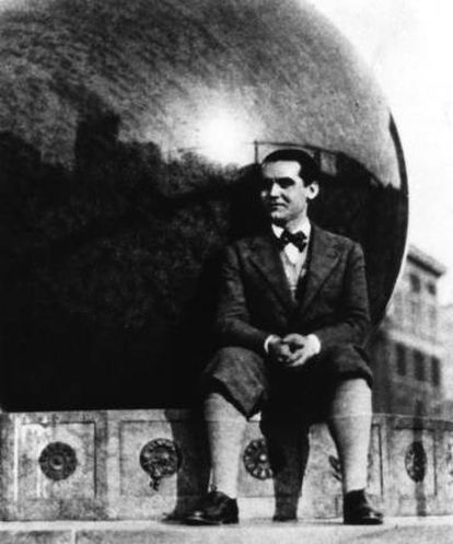 Federico García Lorca em Nova York.