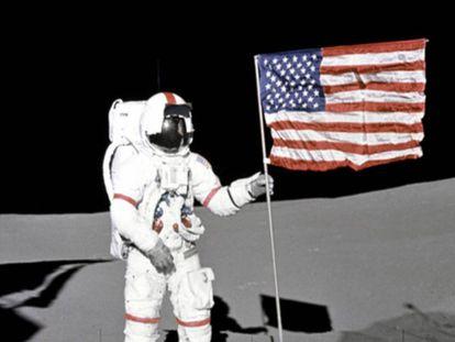 O pouso na Lua é um dos fatos históricos mais discutidos pelos 'conspiranóicos'.