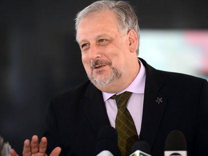 O ministro Ricardo Berzoini.