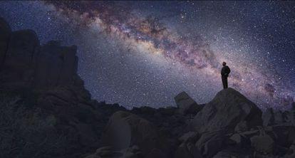 Imagem da série 'Cosmos'.