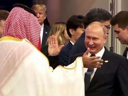 Bin Salman quer uma foto com os líderes mundiais para superar a crise pelo assassinato do jornalista Khashoggi