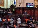 Deputados avaliam impeachment do governador Wilson Wietzel nesta quinta-feira na Alerj.