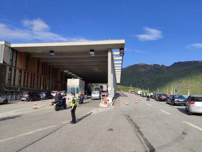 Fronteira franco-andorrana, em 1 de junho.