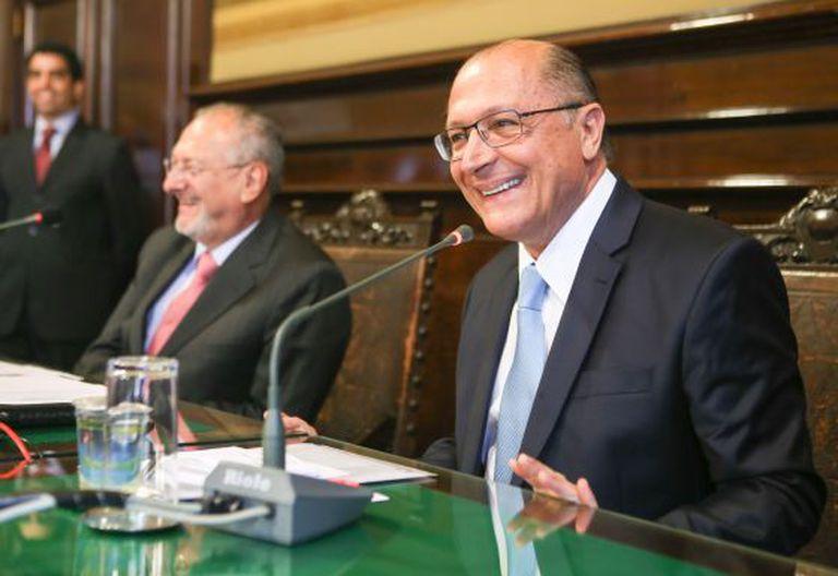 Geraldo Alckmin, em uma imagem de 7 de outubro.