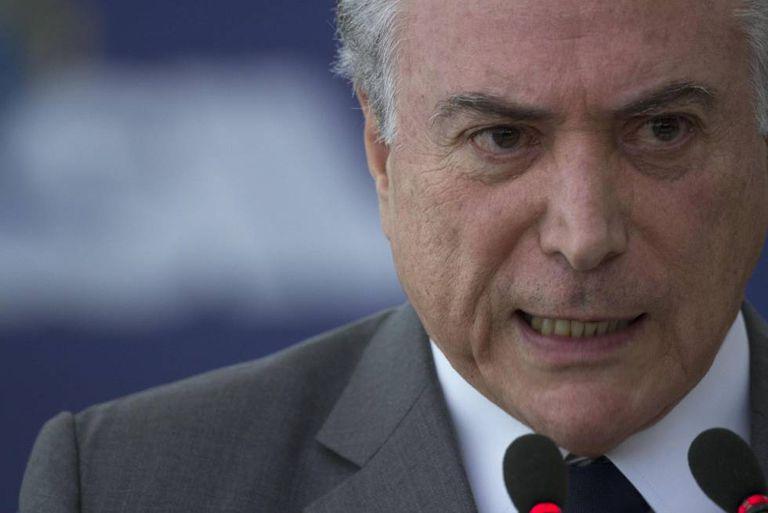 O presidente Michel Temer.