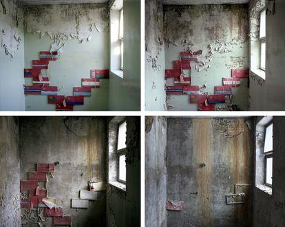 O mesmo lugar fotografado ao longo do tempo por David McMillan.