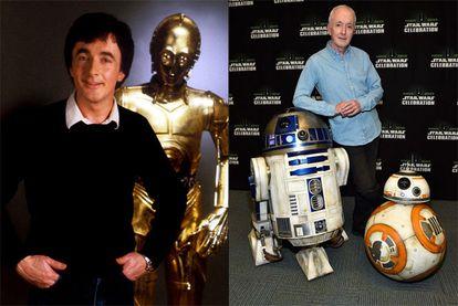 Anthony Daniels, que interpretou C3PO da saga 'Star Wars'.