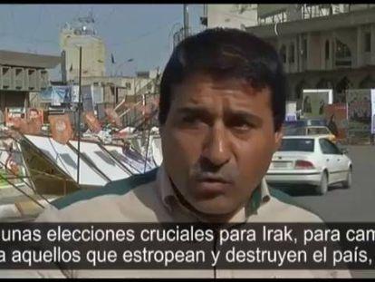 A violência ofusca a campanha eleitoral no Iraque.