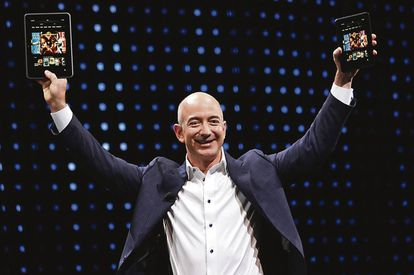 Jeff Bezos, fundador da Amazon.