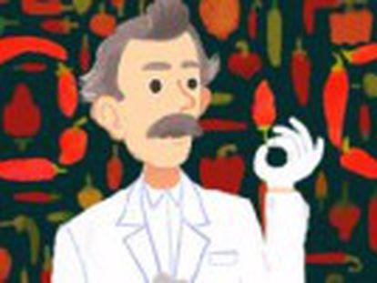 Google homenageia químico norte-americano que desenvolveu em 1912 uma escala para medir o nível de  picância  das pimentas