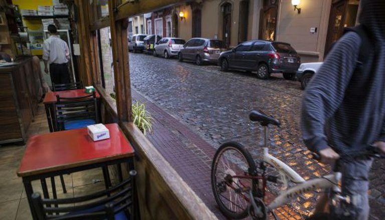 Um dos cafés típicos de San Telmo, em Buenos Aires.