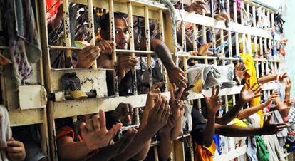 Foto de cedida pelo sindicato dos servidores penitenciários do Maranhão.