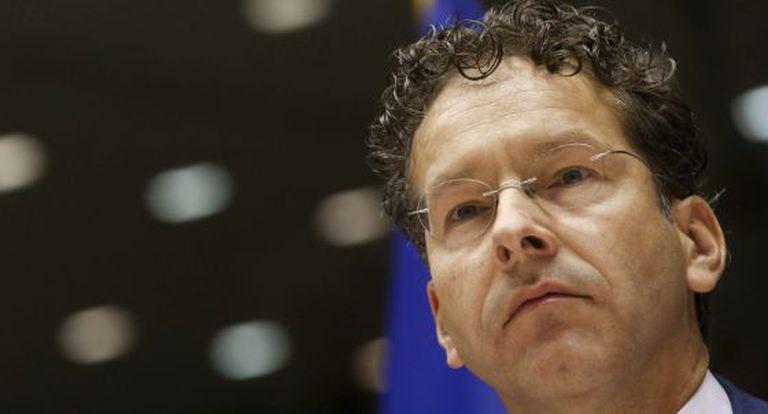 O presidente do Eurogrupo, Jeroen Dijsselbloem, em Bruxelas.