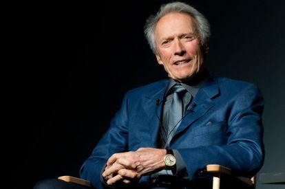 O cineasta norte-americano Clint Eastwood, Nova York, em 2013.