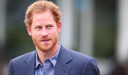 O príncipe Harry.