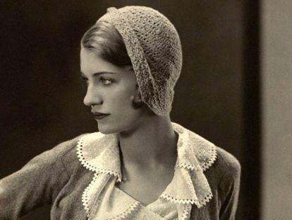 Lee Miller, em sua fase de modelo, fotografada para a 'Vogue', em 1931, por George Hoyningen-Huene. / George Hoyningen-Huene / Condé Nast / Getty Images