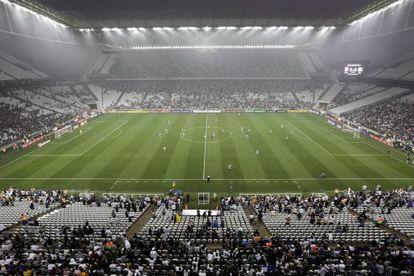 Jogo do Corinthians e Figueirense no Itaquerão.